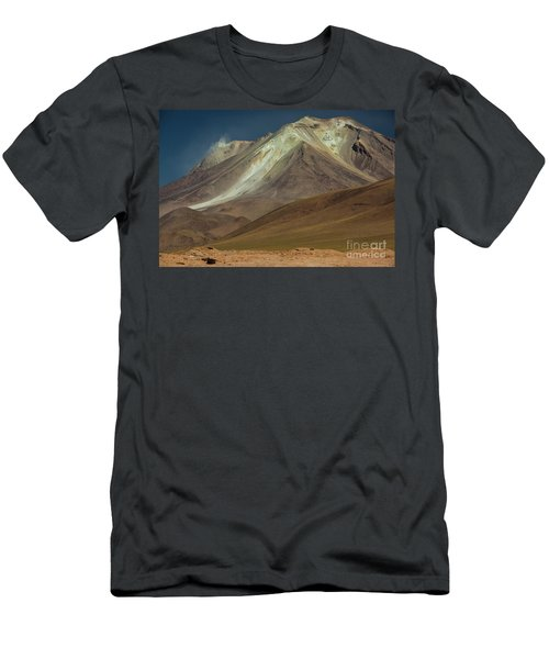 Bolivian Highland Men's T-Shirt (Slim Fit) by Gabor Pozsgai