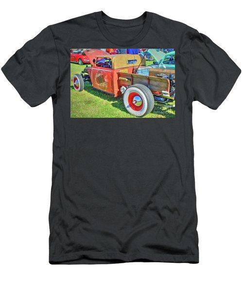 Boneyard Bombs Men's T-Shirt (Slim Fit) by Marion Johnson