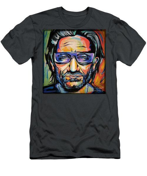 Bono Men's T-Shirt (Slim Fit) by Amy Belonio