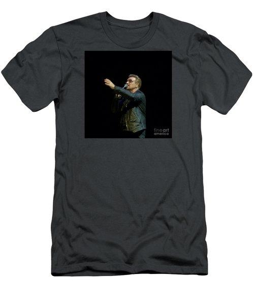 Bono - U2 Men's T-Shirt (Athletic Fit)