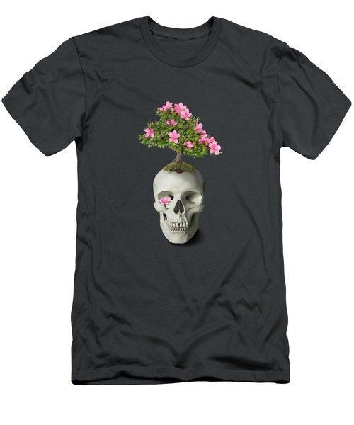 Bonsai Skull Men's T-Shirt (Athletic Fit)