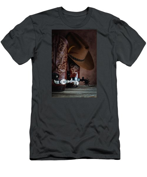 Boots And Spurs Men's T-Shirt (Athletic Fit)
