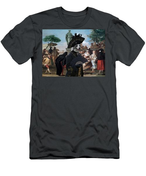 Border Collie Art Canvas Print - The Minuet Men's T-Shirt (Athletic Fit)