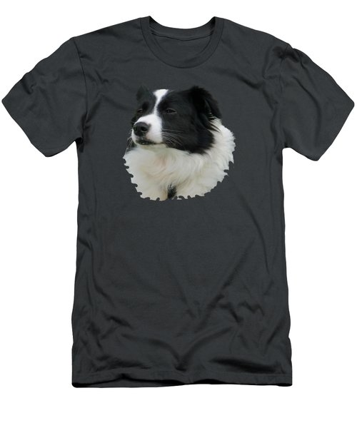 Border Collie Men's T-Shirt (Athletic Fit)