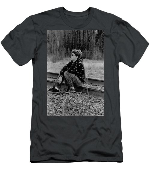 Men's T-Shirt (Slim Fit) featuring the photograph Boredom by Tara Lynn