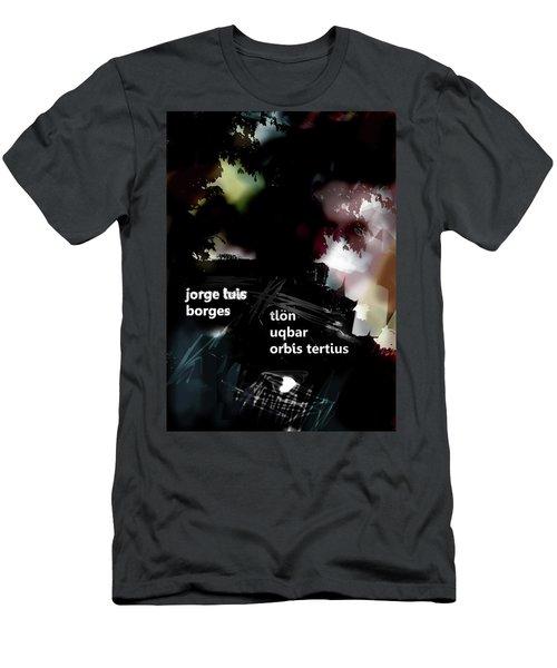 Borges Tlon Poster  Men's T-Shirt (Athletic Fit)