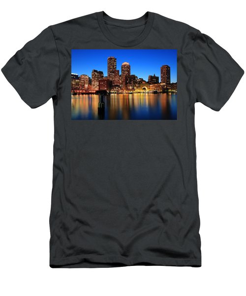 Boston Aglow Men's T-Shirt (Athletic Fit)