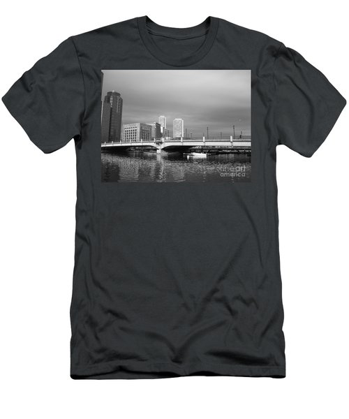 Boston Bridge Men's T-Shirt (Athletic Fit)
