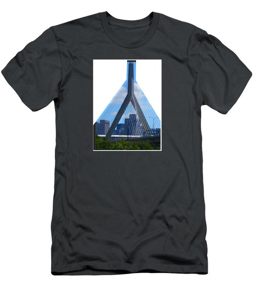 Boston Bridges So Beautiful A Photograph Can Give You All The Time To Enjoy The Moment Men's T-Shirt (Athletic Fit)