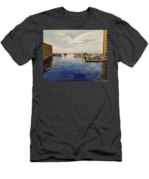 Boston Harbor Men's T-Shirt (Athletic Fit)