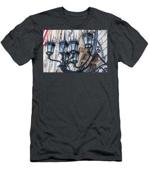 Boston Lamps Men's T-Shirt (Athletic Fit)