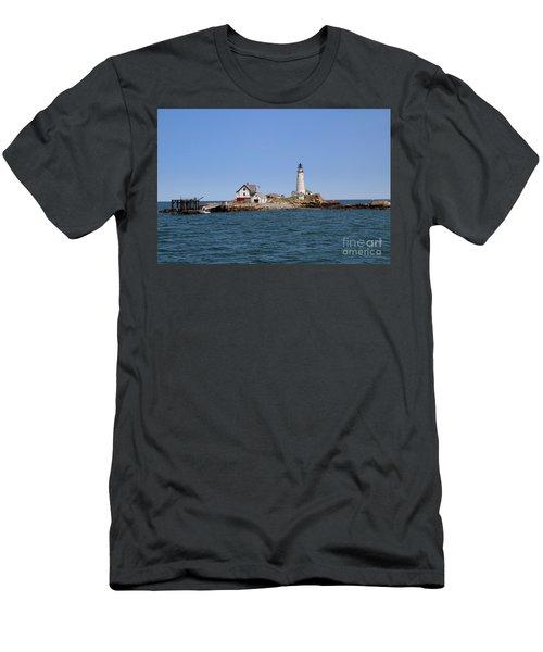 Boston Light Men's T-Shirt (Athletic Fit)