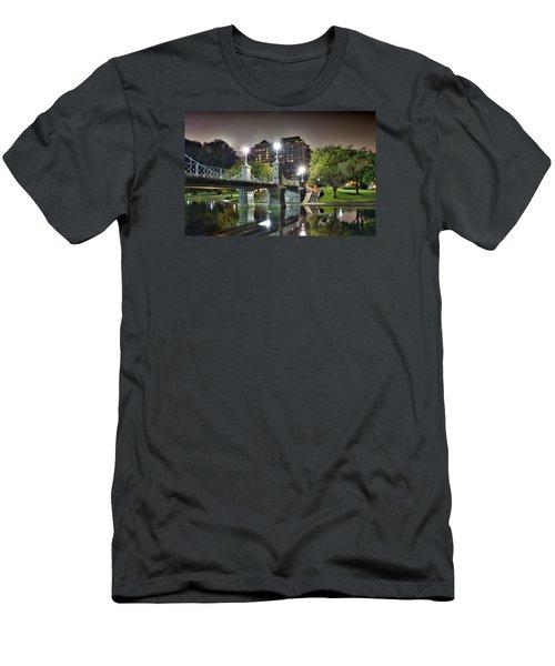 Boston Public Garden Men's T-Shirt (Athletic Fit)