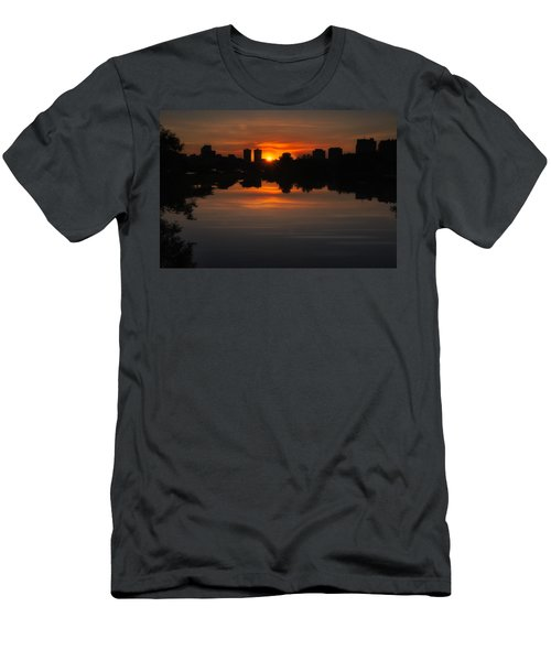 Boston Sunrise Men's T-Shirt (Athletic Fit)