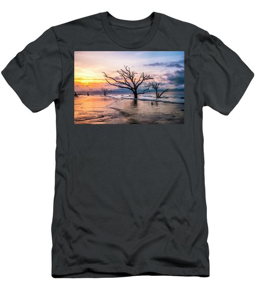 Men's T-Shirt (Slim Fit) featuring the photograph Botany Bay Dawn by Phyllis Peterson