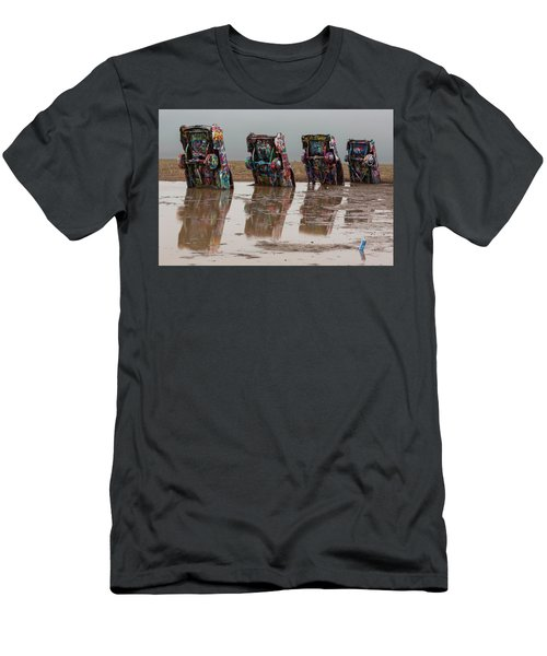 Men's T-Shirt (Slim Fit) featuring the photograph Bottoms Up by Stephen Stookey