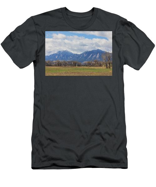 Men's T-Shirt (Slim Fit) featuring the photograph Boulder Colorado Prairie Dog View  by James BO Insogna