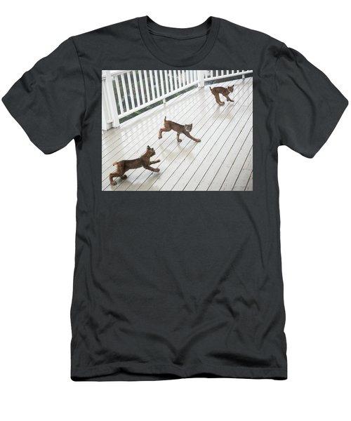 Bouncing Is Best Men's T-Shirt (Athletic Fit)