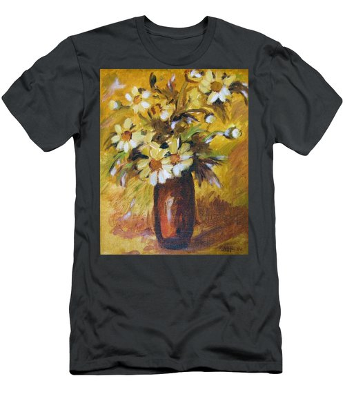 Bouquet Flowers Of Gold Men's T-Shirt (Athletic Fit)