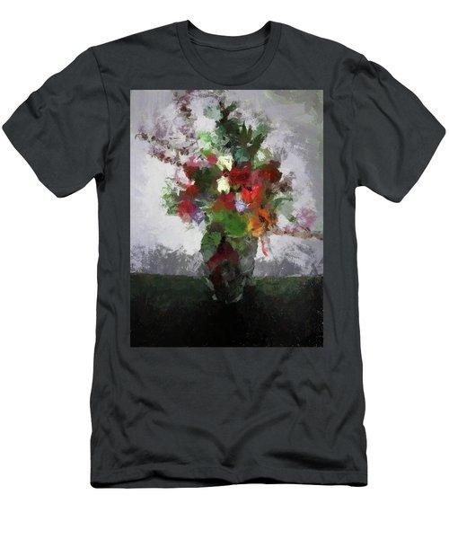 Bouquet Of Flowers Men's T-Shirt (Athletic Fit)