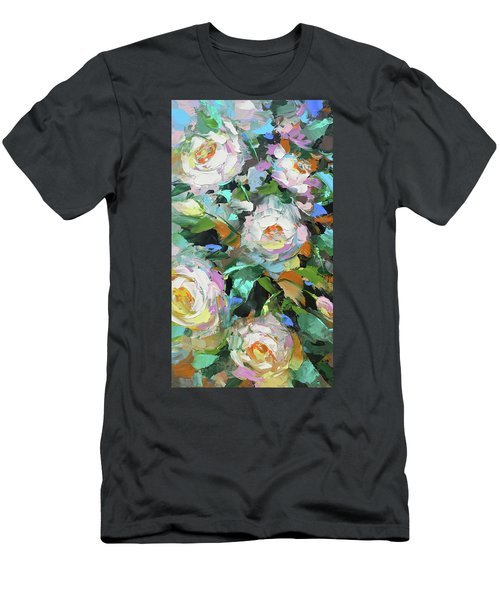Bouquet Of Peonies  Men's T-Shirt (Athletic Fit)
