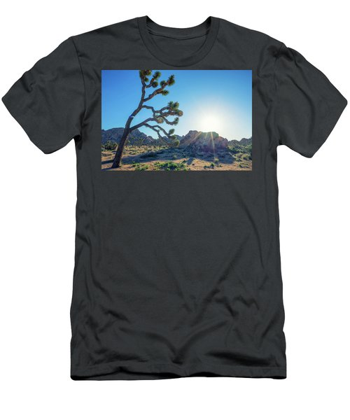 Bowing To The Sun Men's T-Shirt (Slim Fit)