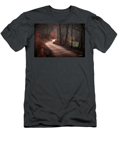Boz Mill Road Men's T-Shirt (Slim Fit) by Bill Stephens