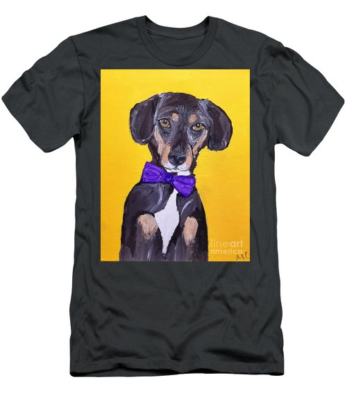Brady Date With Paint Nov 20th Men's T-Shirt (Slim Fit) by Ania M Milo
