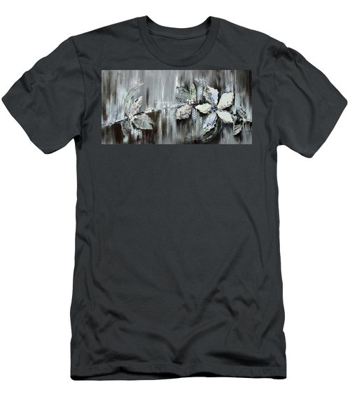 Men's T-Shirt (Slim Fit) featuring the painting Branches Of Fun by Joanne Smoley