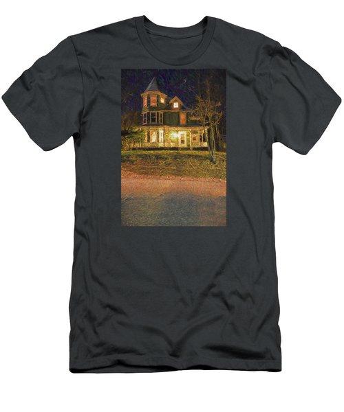 Brattleboro Victorian Men's T-Shirt (Slim Fit) by Tom Singleton