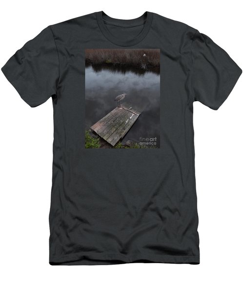 Brave Heron Men's T-Shirt (Athletic Fit)