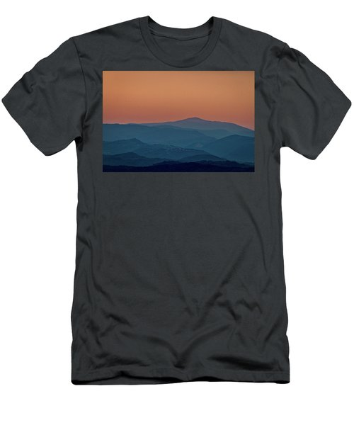 Men's T-Shirt (Athletic Fit) featuring the photograph Brda Dusk - Slovenia by Stuart Litoff