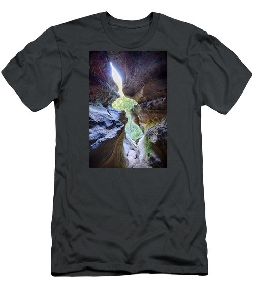 Men's T-Shirt (Slim Fit) featuring the photograph Break Out by Alan Raasch