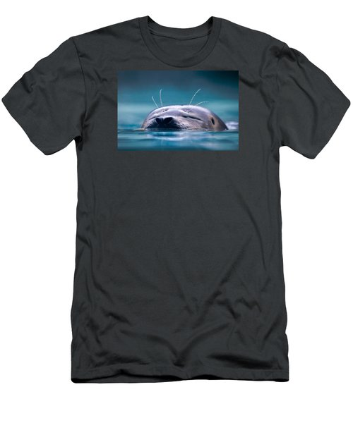 Breathe Men's T-Shirt (Slim Fit) by Brian Stevens