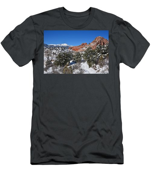 Breathtaking View Men's T-Shirt (Athletic Fit)