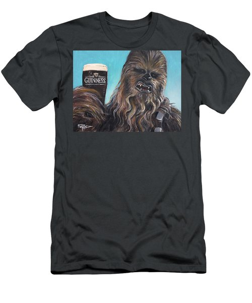 Brewbacca Men's T-Shirt (Slim Fit) by Tom Carlton