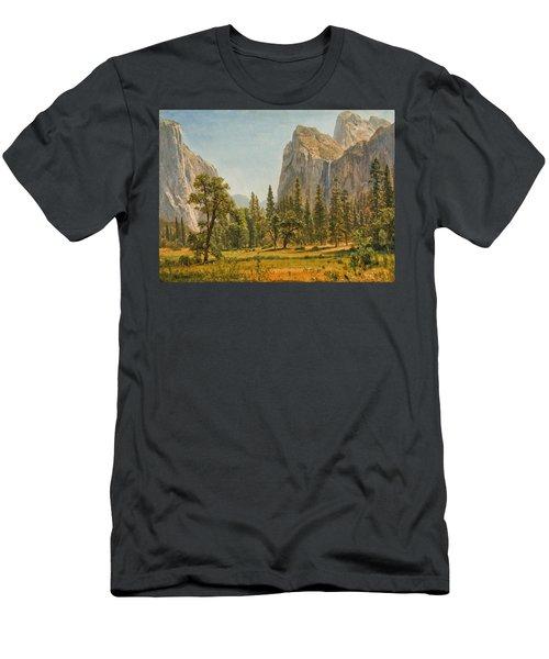 Bridal Veil Falls Men's T-Shirt (Athletic Fit)