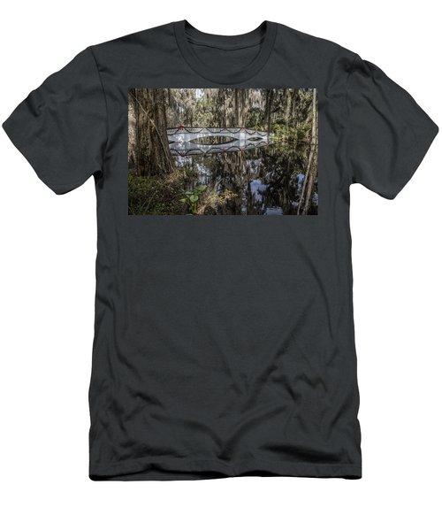 Bridge At Magnolia Plantation Men's T-Shirt (Athletic Fit)