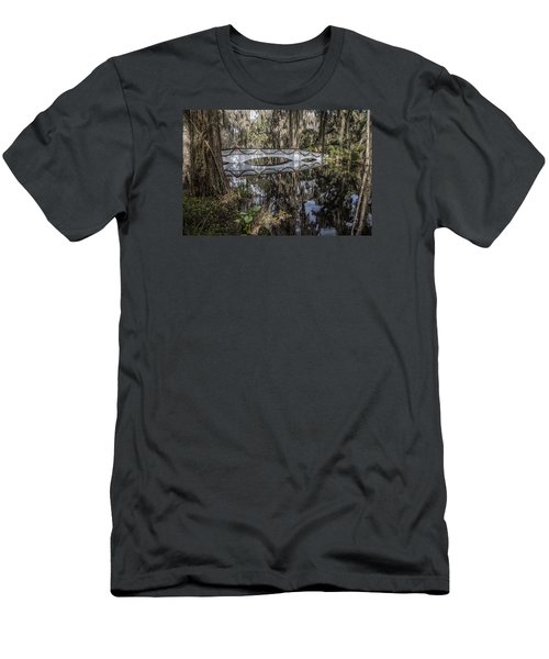 Bridge At Magnolia Plantation Men's T-Shirt (Athletic Fit)