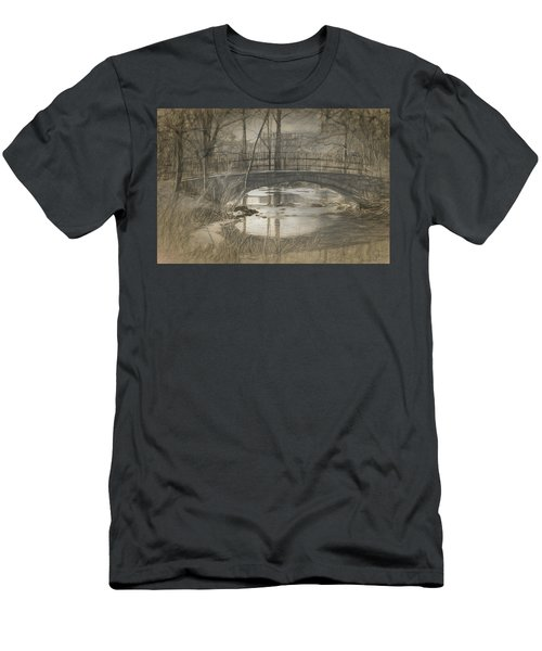 Bridge At The Fens Men's T-Shirt (Athletic Fit)