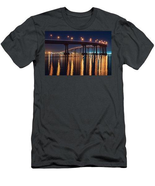 Bridge Bedazzled Men's T-Shirt (Athletic Fit)