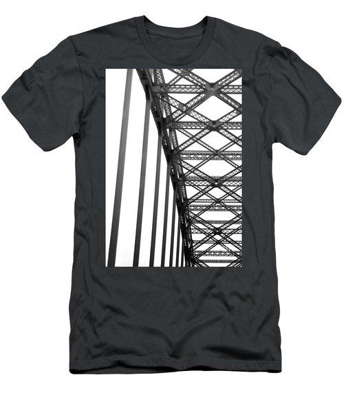 Men's T-Shirt (Slim Fit) featuring the photograph Bridge by Brian Jones