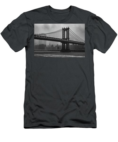 Bridge Over Troubled Water Men's T-Shirt (Athletic Fit)