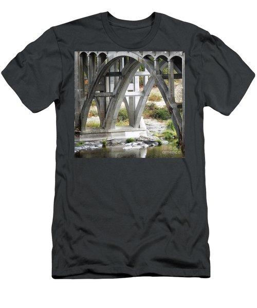 Bridge Over Umpqua Men's T-Shirt (Athletic Fit)