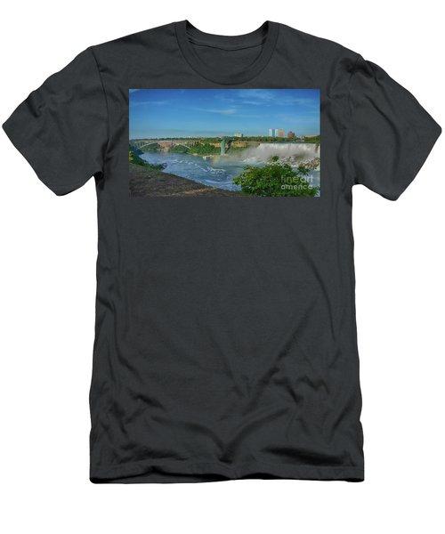 Bridge To America Men's T-Shirt (Athletic Fit)