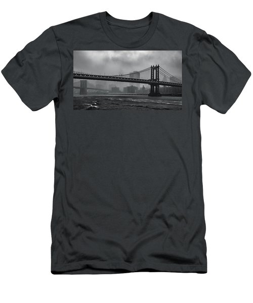 Bridges In The Storm Men's T-Shirt (Athletic Fit)