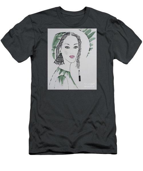 Bright Lady Men's T-Shirt (Athletic Fit)