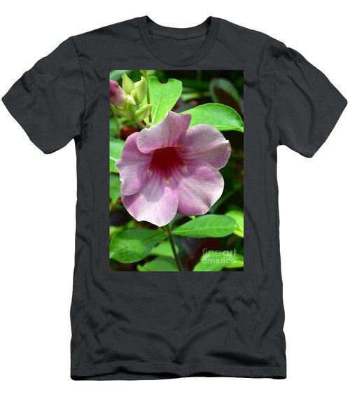 Bright Mandevillia Men's T-Shirt (Athletic Fit)