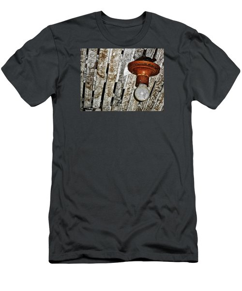 Brighton Homestead IIi Men's T-Shirt (Slim Fit) by Jeff Iverson