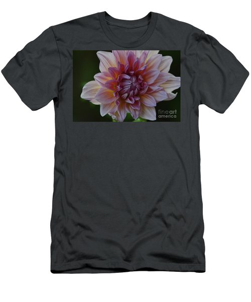 Brilliance Of A Dahlia Men's T-Shirt (Athletic Fit)